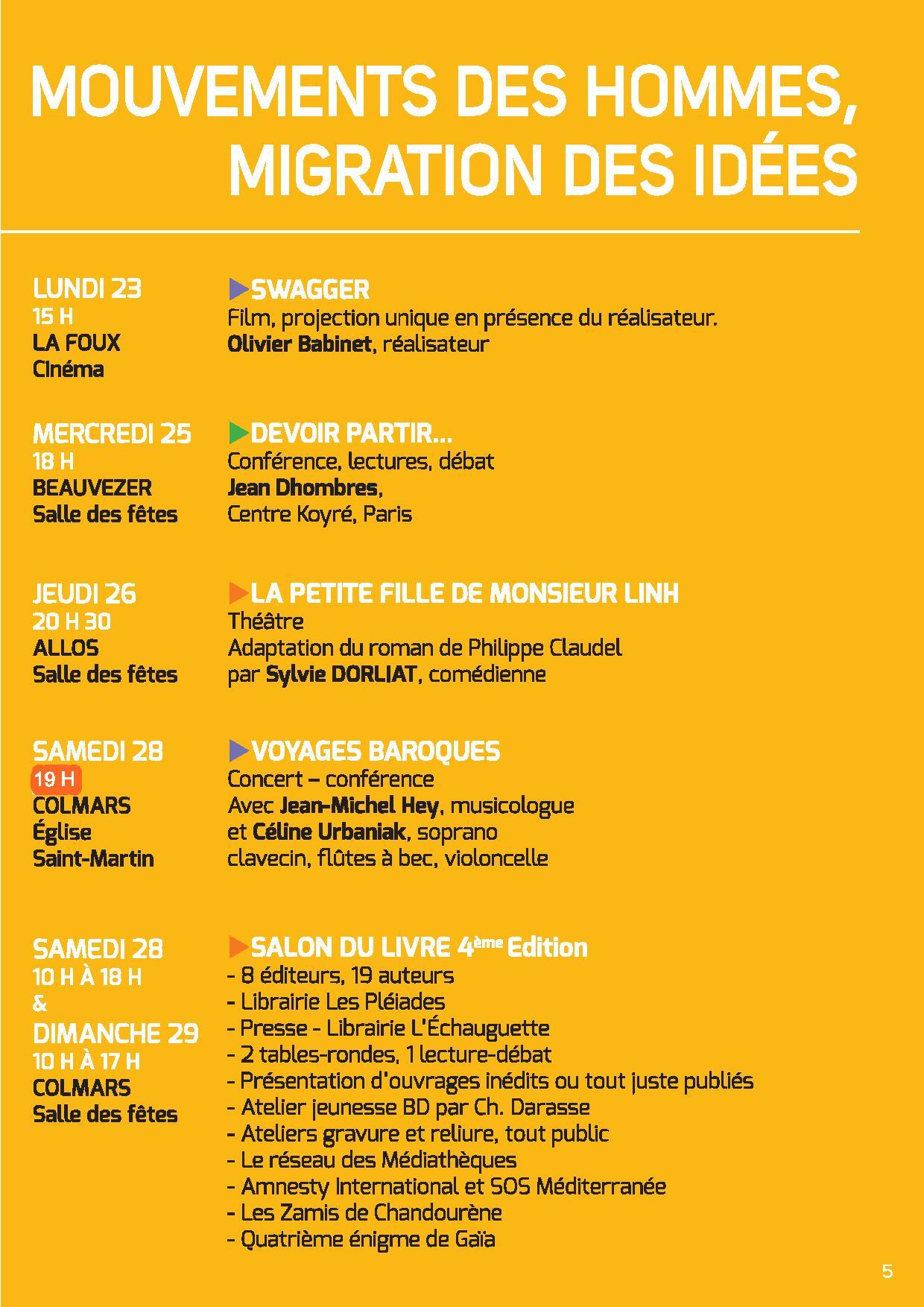 programme rencontres brel 2012